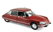 Modello Auto 1:18 CITROEN DS 23 Pallas 1973 Rosso Scuro Metallizzato 181568 NOREV