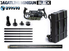 1/6 Scale Weapon Model M134 Heavy Machine Gun Minigun TERMINATOR Gatling 8018