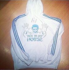 ADIDAS SWEATSHIRT HOODIE ADI ORIGINAL NOT IN MY HOUSE HOOD XX LARGE xxl