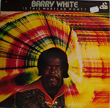 "BARRY WHITE - IS THIS WHATCHA WONT ? 12"" LP (T 650)"