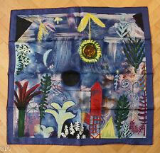 (W) Seidentuch,reine Seide  - art foulard,  Paul Klee , Neuwertig