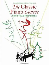 Classical Piano Course Christmas Favourites Learn to Play Xmas Carols Music Book
