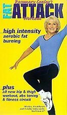 Rosemary Conley - Fat Attack [VHS], Acceptable VHS, ,