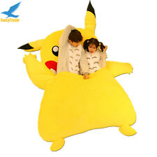 Giant Stuffed Double Pikachu Sofa Bed Tatami Mattress with Padding Best Gift