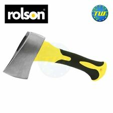 Rolson Stubby Carbon Steel Camping Wood Axe Hatchet Chopper Kindling Splitter