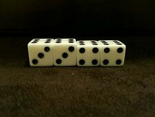Gaffed gambling collectible dice magic dice