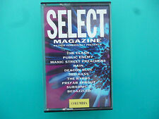 """VARIOUS ARTISTS   """" SELECT MAGAZINE - GENEROUSLY PRESENTS  """"  CASSETTE ( 1991 )"""