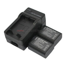 Charger +2x 1080mAh Battery for Sony NP-FW50 Alpha A3000 A3500 A5000 A5100 A6000