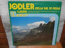 I LADINS JODLER Della Val di Fassa LP disco SM7042 anno 1983