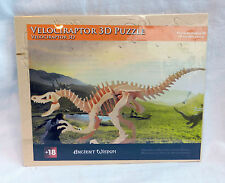 Velociraptor  - Dinosaur - 3D Wooden Model Construction Kit - BNIB