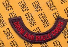 US Army 24th INF DIV BAND DRUM & BUGLE CORPS tab arc patch