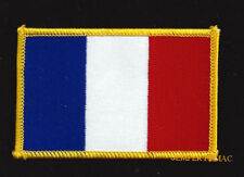 FRANCE COUNTRY HAT VEST FLAG PATCH SOUVENIR TRIP GIFT PIN UP EUROPE FRENCH WOW