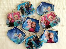 ONE FROZEN ANNA ELSA OLAF COIN PURSE IDEAL BIRTHDAY PARTY LOOT/LOLLY/TREAT BAG