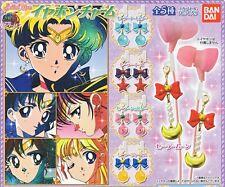 Sailor Moon - Gashapon Earphone Charm SET of 5 - Earrings Figure Cosplay