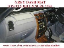 DASH MAT, DASHMAT, DASHBOARD COVER FIT TOYOTA HILUX  SURF 1996, GREY WITH AIRBAG