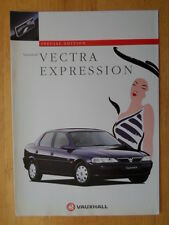 VAUXHALL Vectra Expression Special Edition 1996 1997 UK Market sales brochure