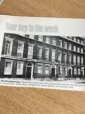 m6-2 ephemera 1970 picture tavistock place james burton georgian houses