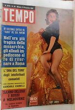 TEMPO 13 dicembre 1956 Fanny Landini Ennio Flaiano Anaconda Egitto Rondinella di