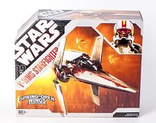 STAR WARS 2006 Clone Wars 30 Anniversary V-Wing Starfighter Vehicle HASBRO NIB