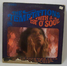 Temptations -With A Lot Of Soul LP Vinyl Record Album 1967 Gordy S922 All I Need