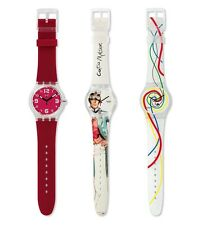 BNIB Beautiful Designer SWATCH Limited Edition Mystery Vintage Set of 3 Watches