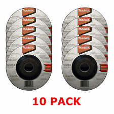 "MAKITA 115mm 4 1/2"" GRINDER DISCS - 10 PACK FOR 18V LXT BGA452Z ANGLE GRINDER"
