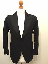 Mens Vintage 1920's Single Breasted Dinner Jacket DJ Size 36