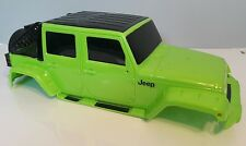 1/8 scale Jeep HARD BODY SHELL RC Rock Crawler SCX10 Axial D90 4WD New Bright