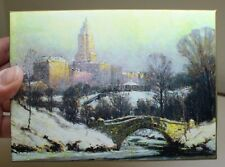 COLIN CAMPBELL COOPER GALISON CENTRAL PARK MORNING NOTECARDS, NY HOLIDAY GIFT