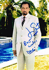 Jimmy Smits Hand Signed Autograph Photo  Cane  West Wing Actor  Star Wars