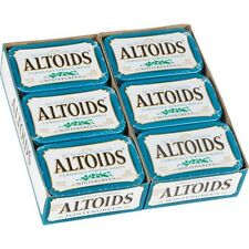 Altoids, Wintergreen Candy Mints 1.76 oz, 12 ct Tins