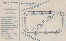 A2353) PORDENONE, CAMPO DI CAVALLERIA 1907, PISTA DELLA COMINA.