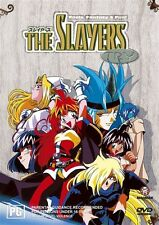 The Slayers Try Collection (DVD, 2004, 4-Disc Set Fat Case) Region 4