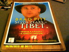 Seven Years in Tibet (brad pitt) A2+ Movie Poster