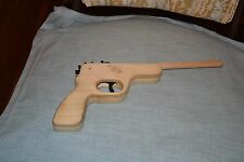 vintage wooden rubberband gun- rubberband missing