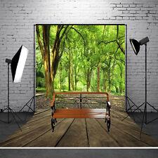 3x5FT Waldholz Fußboden Fotostudio Hintergrund Hintergrundstoff Background Neu