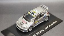 Kyosho Lv CM's 1/64 Rally Car PEUGEOT 206 WRC 2000 Monte Carlo new CMs