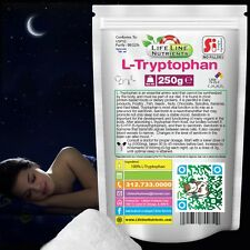 250g (8.8oz) L-TRYPTOPHAN AMINO ACID POWDER in Package
