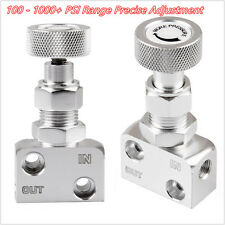Silver CNC Aluminium Car SUV Adjustable Brake Proportioning Valve Bias Drum Knob