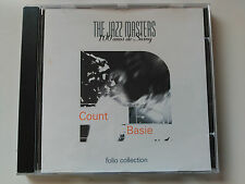 CD COUNT BASIE - THE JAZZ MASTERS - FOLIO 1997 VG+