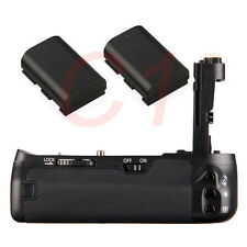 Battery Grip For Canon EOS 6D DSLR + 2x Decoded LP-E6 Battery as BG-E13 BGE13