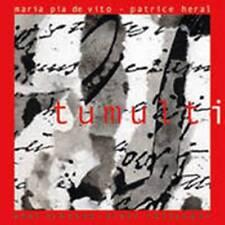 Maria Pia De Vito TUMULTI musica jazz CD nuovo sigillato il Manifesto 2003