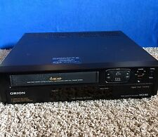 Orion VR0400 4-Head VHS HQ VCR Player Works Tested No Remote