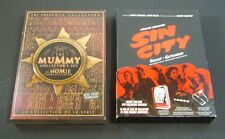 The Mummy Collector's Set, Sin City (DVD, 2005, Special Edition Lot of 2 DVD set