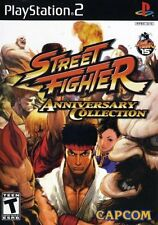 Street Fighter Anniversary Collection [PlayStation 2 PS2, NTSC, Fighting] NEW