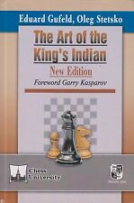 The Art of the King's Indian. By Eduard Gufeld and Oleg Stetsko. NEW CHESS BOOK