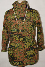WWII GERMAN SPRING AUTUMN OAK CAMO REVERSIBLE MOUNTAIN ANORAK SMOCK XXL-32471