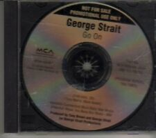 (CL951) George Strait, Go On - 2000 DJ CD