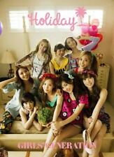 New Girls' Generation SNSD Official Photobook Holiday Japan  F/S
