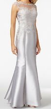 JS Collections New Illusion Brocade Sequin Column Gown Size 4 MSRP$469 #BN 17